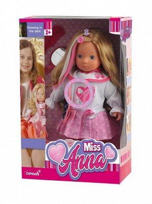 Кукла DIMIAN Miss Anna, интерактивная 40 см, светящиеся волосы , со звуковыми эффектами.12
