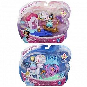 Кукла Hasbro Disney Princess маленькая с транспортом 2 вида (Жасмин, Золушка)5