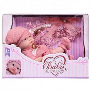 """Пупс """"Baby So Lovely"""", 25см (10''), с аксессуарами, с аксессуарами, в коробке72"""