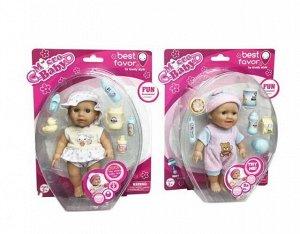 """Пупс """"Micro Baby"""", 15 см, в костюмчике, с аксессуарами, в ассортименте359"""