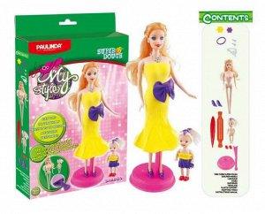 """Масса для лепки """"Мой стиль"""" Шэрон, набор для создания наряда для куклы97"""
