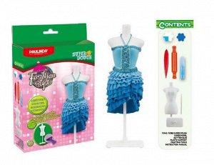 """Масса для лепки """"Мода и стиль"""", набор для создания наряда для куклы312"""