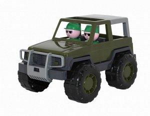 Автомобиль военный джип Вояж 23,5 см.6