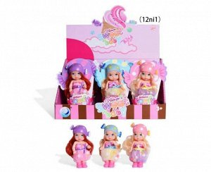 """Пупс-куколка""""Baby Ardana"""", сладкая серия, 12 шт. в дисплее, 3 вида в коллекции, ЦЕНА ЗА ШТУКУ!53"""