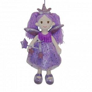 Кукла ABtoys Мягкое сердце, мягконабивная Фея в фиолетовом платье, 45 см167