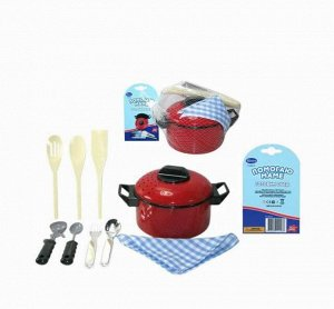 """Набор посуды для кухни """"Помогаю Маме"""", 10 предметов46"""