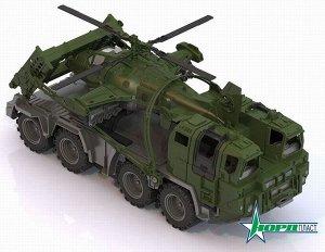 Тягач военный Щит с вертолетом 56х25х26,5 см.47