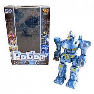 Робот, в ассортименте 8 видов, с эффектами, на батарейках