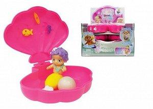 Baby Secrets Merbabes, коллекционная куколка-русалка в ракушке, 1 серия, 11 шт в ассортименте+1 редкий, 18 шт в дисплее.144