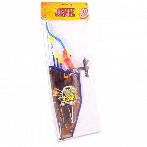 Игровой набор ABtoys Лук со стрелами на присосках, в наборе88