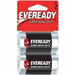 Батарейка EVEREADY Heavy Duty 2*C 1,5V блистер