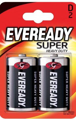 Батарейка EVEREADY Super HD D FSB2-R20 в уп.2шт