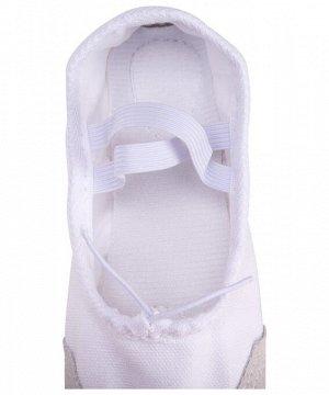 Балетки SL-01, текстиль, белый(32-37)