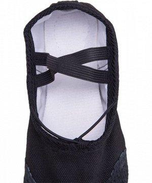 Балетки SL-01, текстиль, черный(32-37)