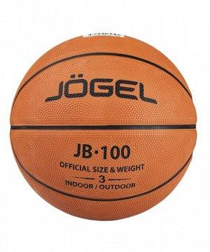 Мяч баскетбольный J?gel JB-100 (100/3-19) №3 1/50