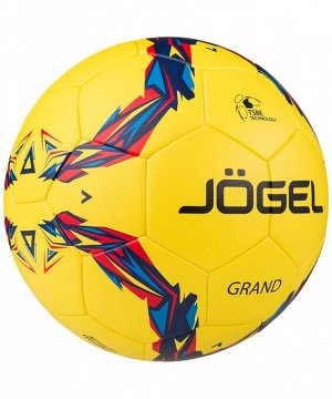 Мяч футбольный JS-1010 Grand №5, желтый