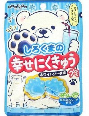 """Мармелад """"Счастливые лапки"""" Shirokuma Happy Paws, Senjaku, содовая"""