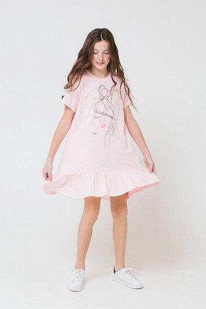 5603 платье/светло-розовый