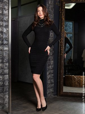 """Платье Супер-комфортное платье с длинными рукавами из натурального, сильно-эластичного и плотного трикотажа. Необычайно мягкий трикотаж с выделкой """"под кашемир"""" не пилингуется и не просвечивает (тольк"""