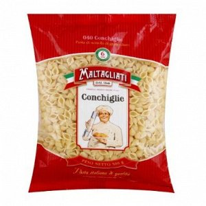 Макароны Maltagliati  Conchiglie (Ракушка мелкая), 500г