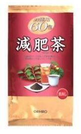 Чай сборный диета, 60 пакетов. Orihiro, Япония