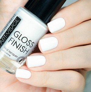 Лак AV д/ногтей Gloss Finish №102 белая лилия