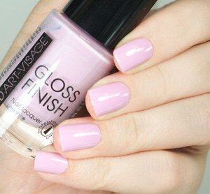 Лак AV д/ногтей Gloss Finish №106 черничный йогурт