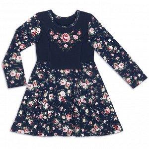 Платье для девочки Георгин