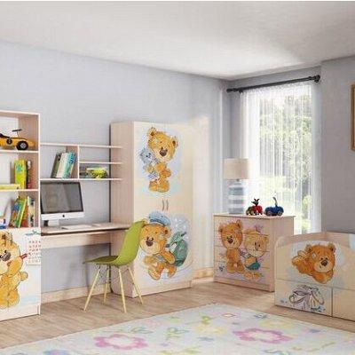 Новое поступление. Комоды, столы, шкафы, кухни — Мебель для детских МИШКИ — Детская