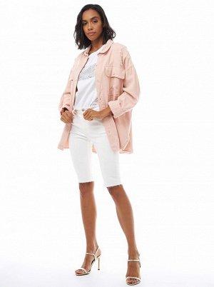 (003-1-coll) куртка джинсовая жен