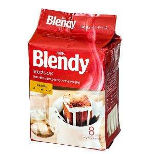 Кофе Япония AGF Бленди Мокка фильтр-пакет на чашку 7гр*8шт