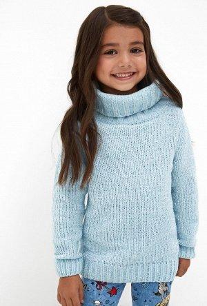 Свитер детский для девочек Jensen голубой