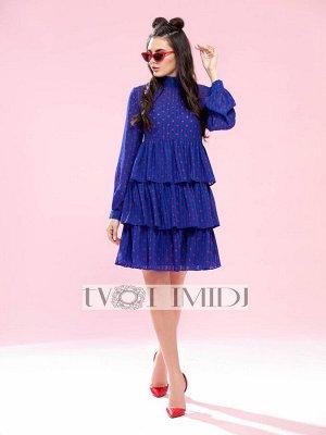 Платье Твой имидж 1201 синий