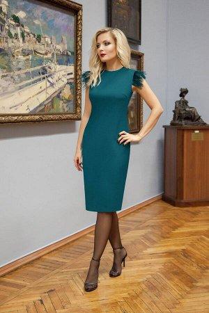 Платье Azzara 612Б темно-бирюзовый