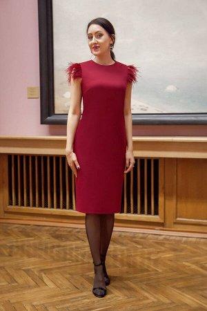 Платье Azzara 612В винный