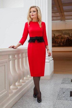 Платье Azzara 617-Р красный