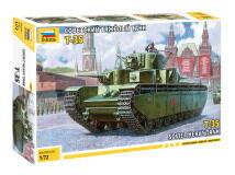 Сборная модель ZVEZDA Советский танк Т-357
