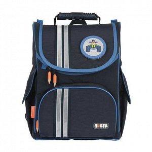 Рюкзак школьный Nature Quest Cool Blue Crinkled Nylon8