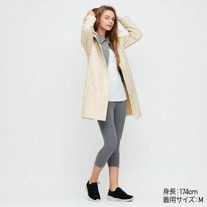 Пальто с капюшоном, натуральный
