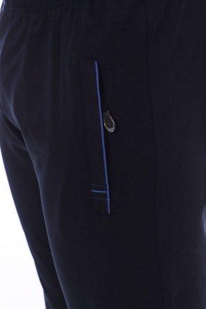 Брюки 3441 72% хлопок, 20% полиэстер, 8% лайкра Брюки мужские из качественной турецкой ткани 2-х нитки компакт пенье, карман на молнии с брелоком. Модель брюк с манжетами. Карман украшен полоской ткан