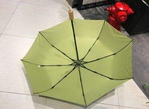Зонт складной светло-зеленый