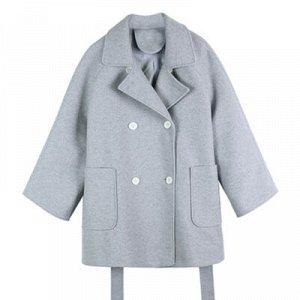 Пальто S ОГ 114см, длина 80см, M ОГ 118см, длина 81см, L ОГ 122см, длина 82см, XL ОГ 126см, длина 83см
