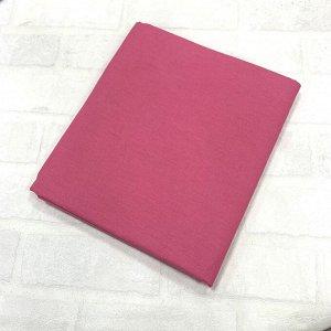 Наволочка 70х70 Тёмный розовый