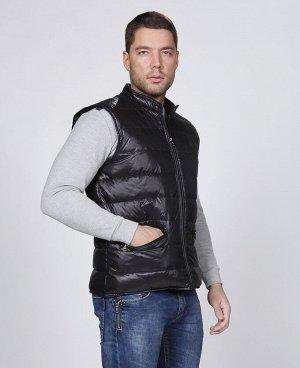 . Темно-синий; Темно-зеленый;     Жилет мужской 57223 Два наружных кармана, внутренний карман на молнии, жилет складывается в компактный чехол. Состав: Верх 100% - нейлон. Подклад 100% - нейлон. Нап