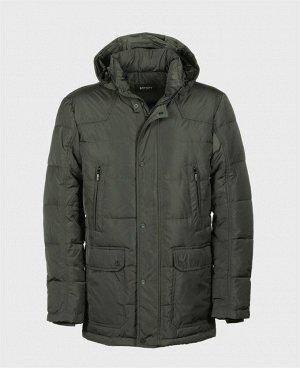 . Серый;    Куртка мужская 57160B Шесть наружных карманов, три внутренних кармана на молниях, отстегивающийся капюшон, регулируемая кулиса по линии талии, трикотажный теплоудерживающий манжет в рукав