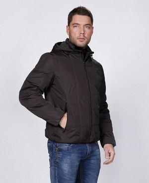 . Коричнево-зеленый; Синий; Бордовый;    Куртка мужская 57153 Два наружных кармана на молниях, три внутренних кармана (из них два на молниях), отстегивающийся капюшон, манжеты на рукавах и низ куртки