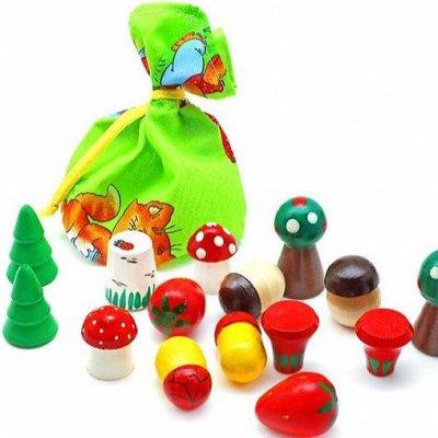 Мир развивающих игрушек Wood Toys™ — Волшебные мешочки и бирюльки — Развивающие игрушки