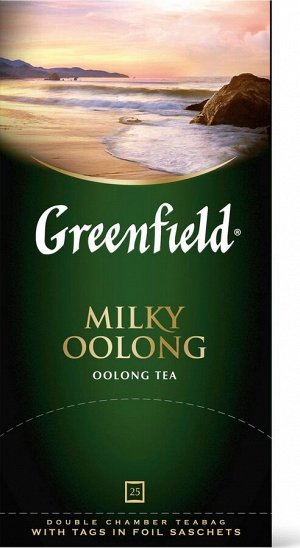 Чай Гринфилд Milky Oolong green tea 25пак