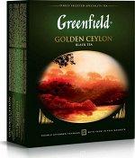 Чай Гринфилд Golden Ceylon пакет с/ярл.