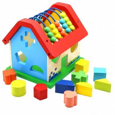 Мир развивающих игрушек Wood Toys™ — Пирамидки и Кубики — Деревянные игрушки